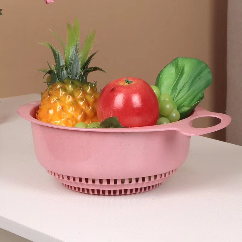 多功能家用塑料洗菜篮水果清洗篮沥水篮收纳篮