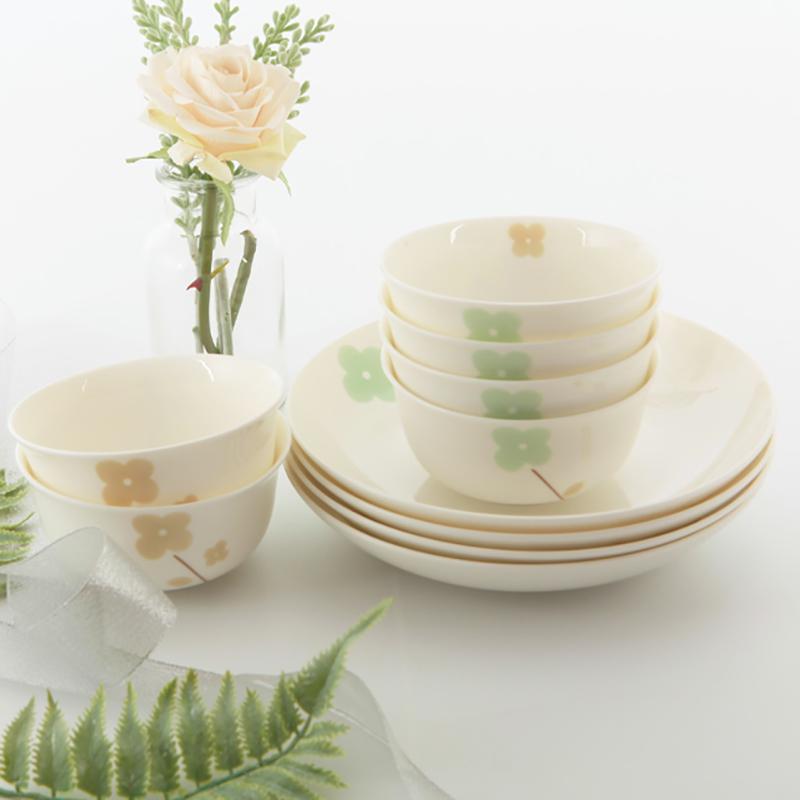 【盛世唐韵】骨质瓷餐具10头餐具套装岁月静好 水墨江南 TY-0010