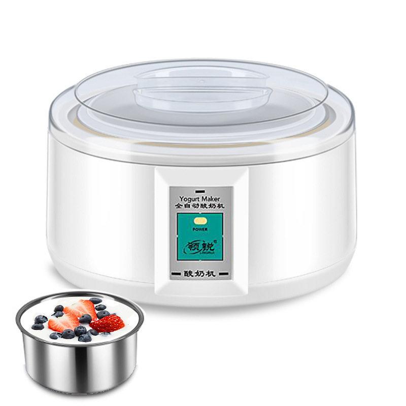 大容量分杯酸奶机纳豆米酒机不锈钢家用迷你恒温酸奶机全自动