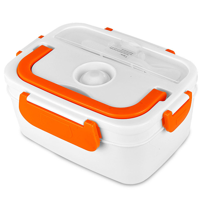 多功能电热饭盒迷你插电加热饭菜便携自动电子保温便当盒