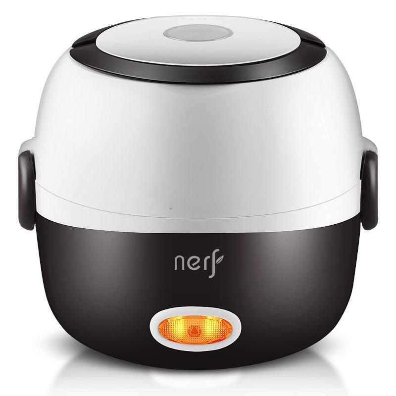 【拉尔弗】电热饭盒电蒸锅可插电保温热饭神器自动加热蒸煮器便携 MD-818/MD-828