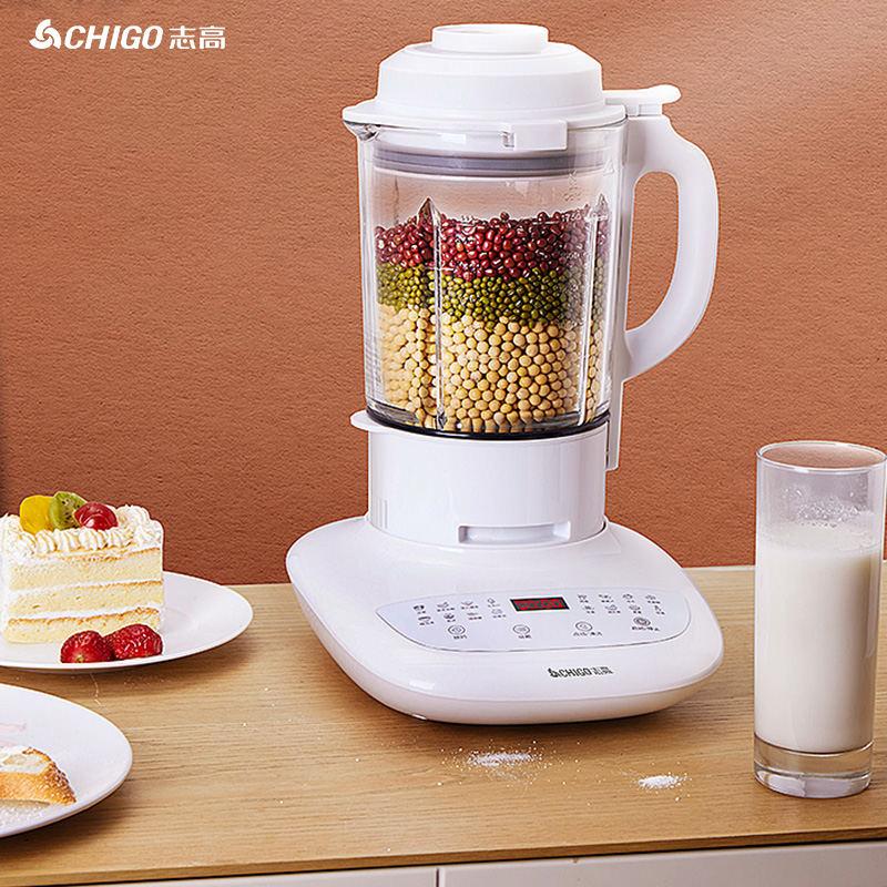 【志高】(CHIGO)破壁机 轻音超薄 家用多功能破壁料理机 豆浆机 榨汁机 婴儿辅食机 ZG-TJ501