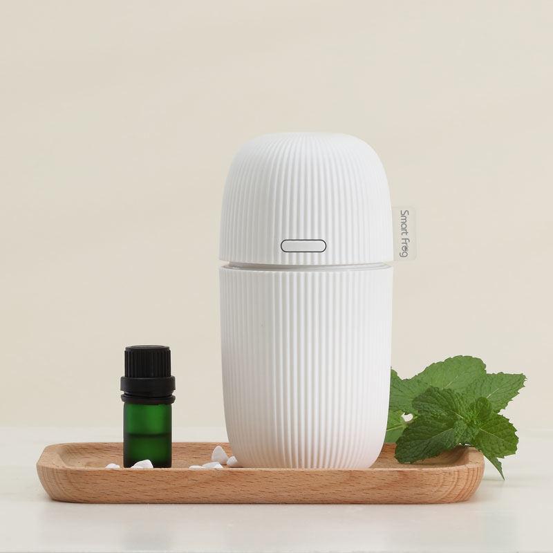 【卡蛙】小型便携USB精油家用商用加湿可爱高颜值便携耐用普罗旺斯香薰机 KW-AD01