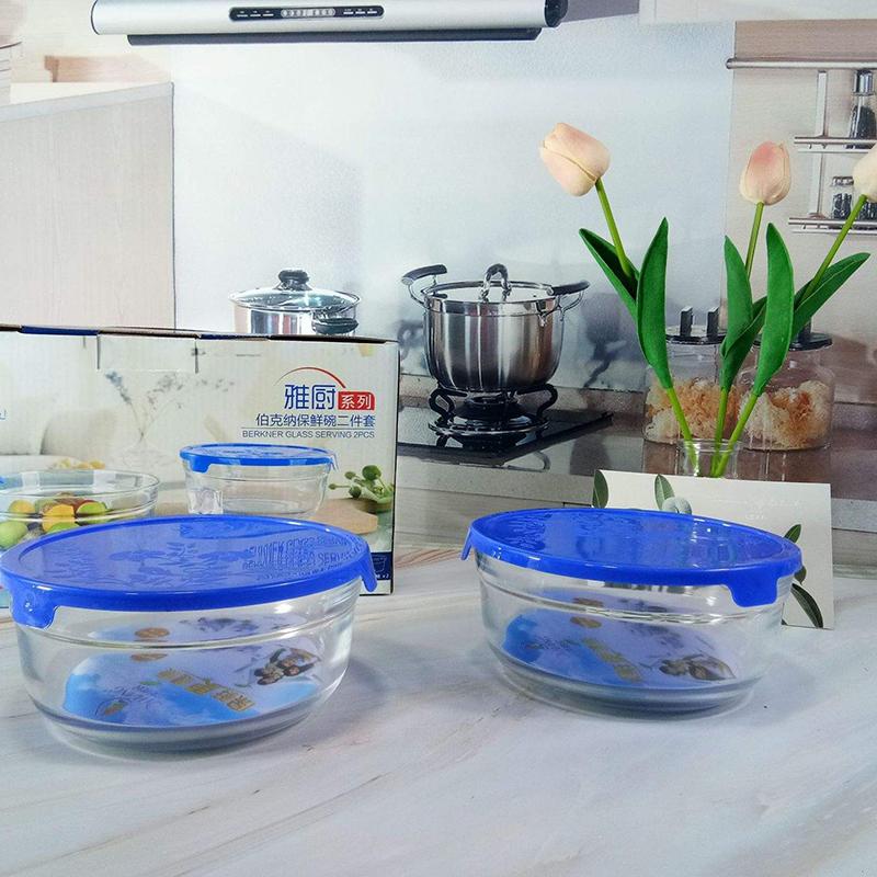 透明玻璃保鲜碗家用便当保鲜碗套装