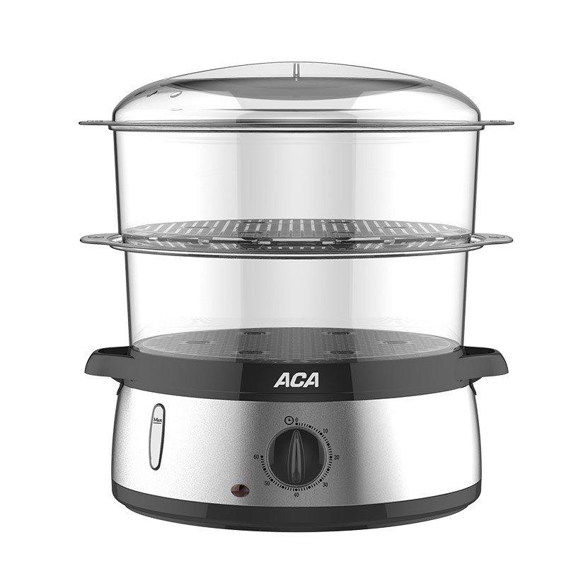 【北美电器】(ACA) 电蒸锅 自带蒸蛋孔家用厨房多功能电蒸锅 ALY-60DZ05J