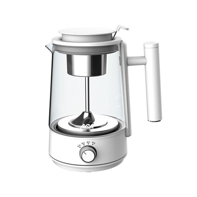 【北美电器】(ACA) 静音煮茶器 分离式茶网高硼玻璃壶身24小时保温 ALY-10ZC03J