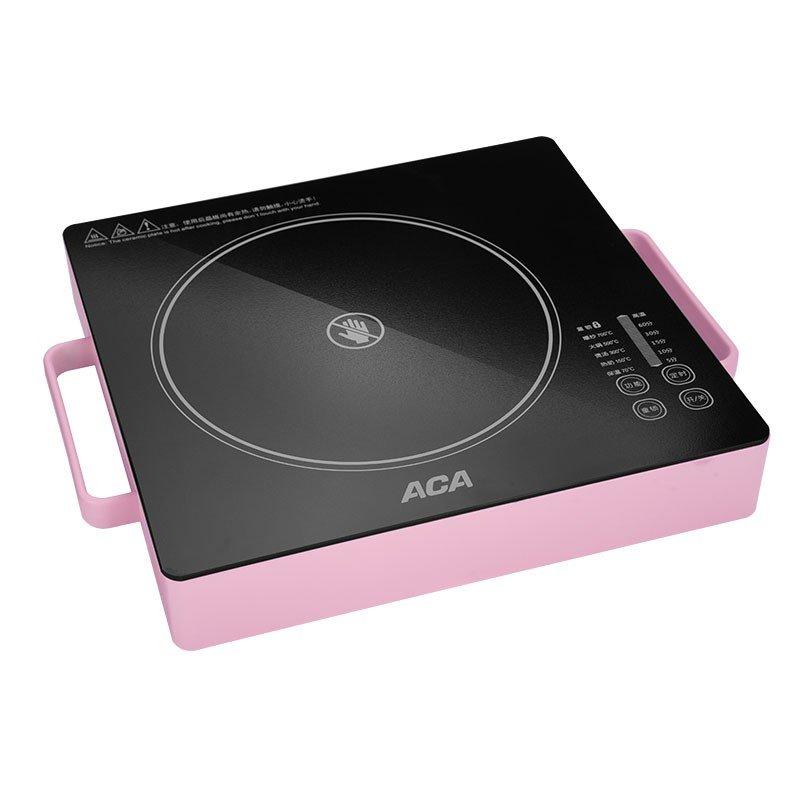 【北美电器】(ACA) 多功能电陶炉 全新微电脑触摸控制家用电磁炉  ALY-20DT02D