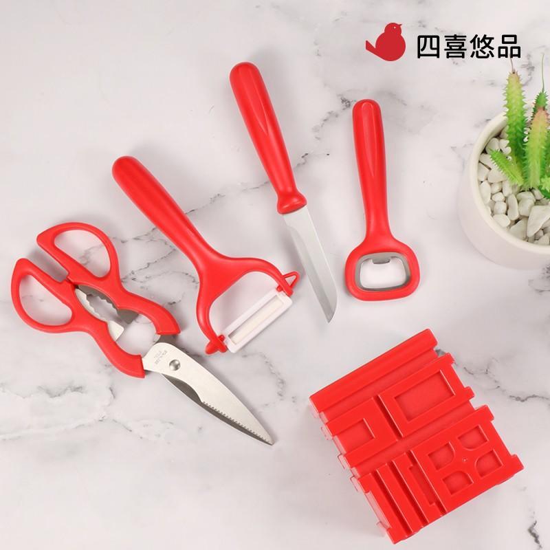 【四喜悠品】福临门刀具套装 家用厨房刀具套装 ST-235