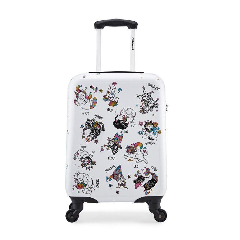 【外交官】怪异猫拉杆箱时尚便携行旅登机箱DS-13033