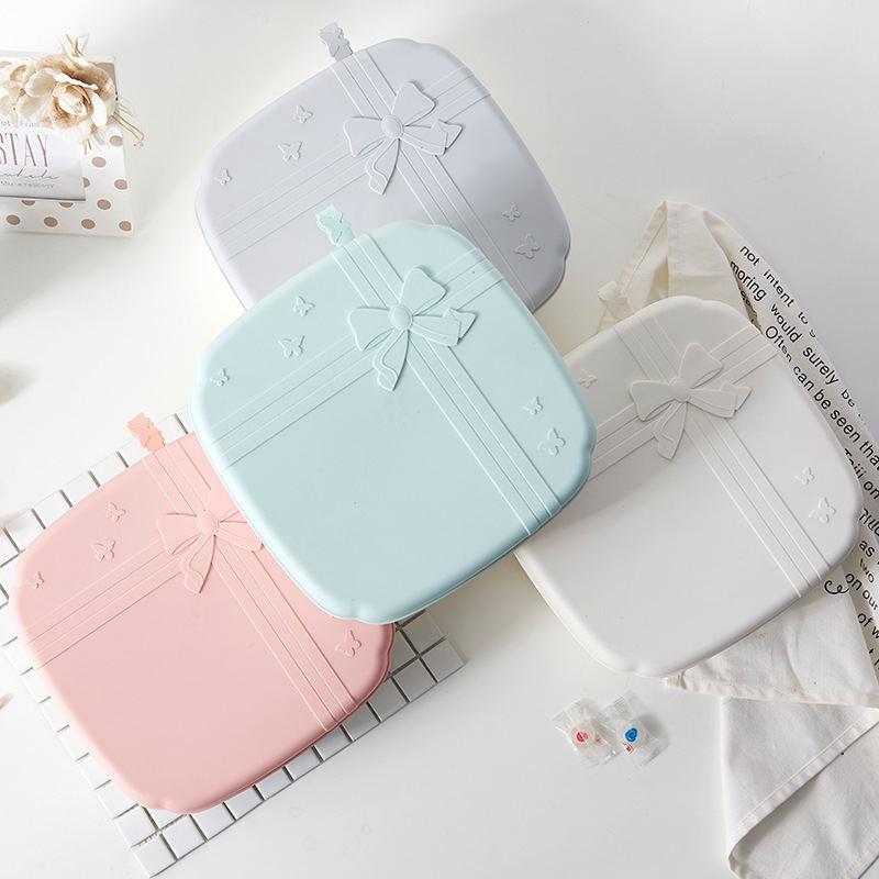 创意干果盒 带盖欧式密封糖果盘塑料多格零食收纳盒