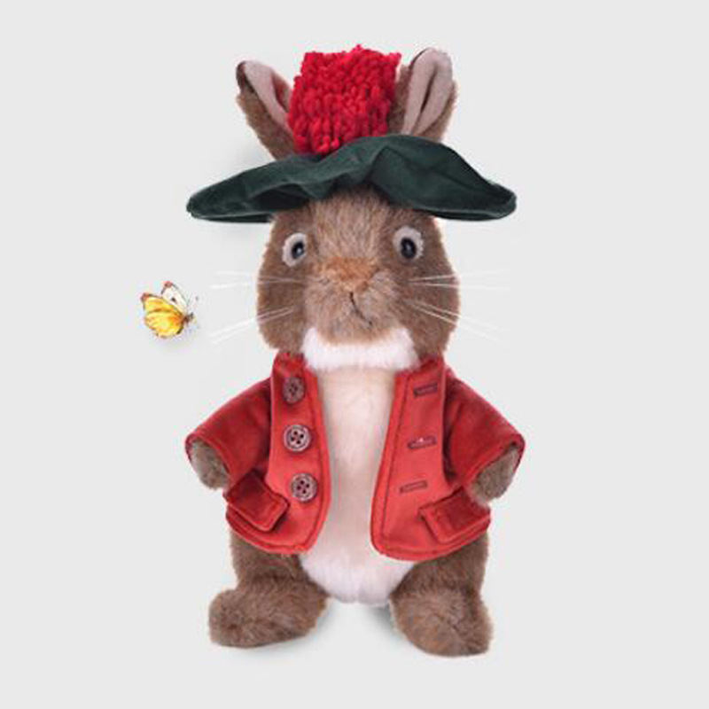 【比得兔】本杰明可爱活泼毛绒玩具玩偶毛绒公仔PR-T998