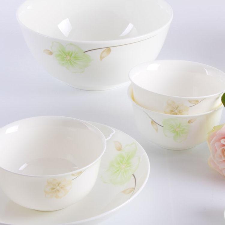 【盛世唐韵】骨质瓷餐具润物细无声碗具碗盘TY-0022