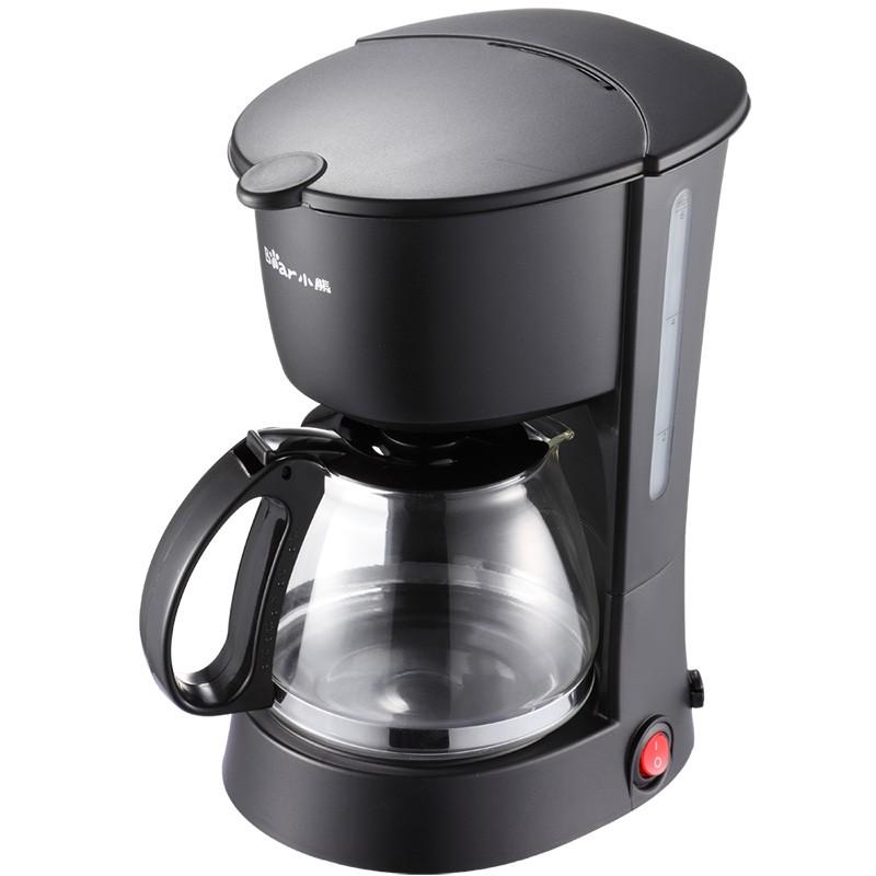 【小熊】咖啡机 一键操作防滴漏功能防爆玻璃壶 KFJ-403