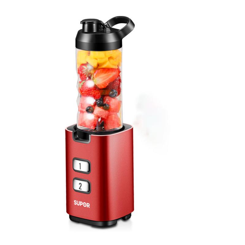 【苏泊尔】家用便携式全自动多功能迷你电动果汁机榨汁机BS305B-200