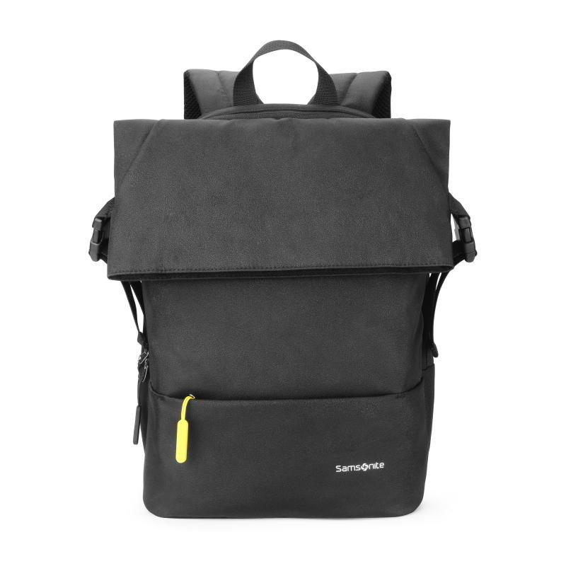 【新秀丽】双肩包 商务通勤电脑包 黑色TR1*09001