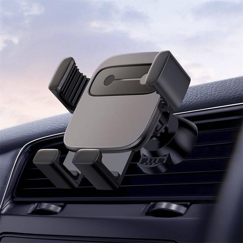 【倍思】重力感应卡扣式小方块重力车载支架SUYL-FK01