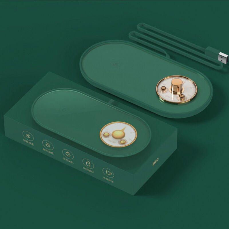 乐可可暖杯垫多功能保温垫自动加热恒温杯垫M10