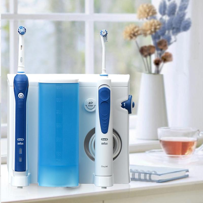 【欧乐B】(Oral-B) 电动牙刷成人含冲牙器家庭护理洗牙套装OC20