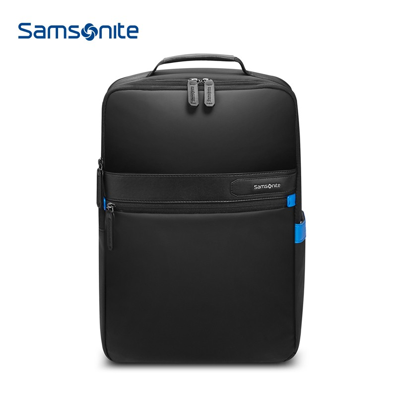 【新秀丽】背包男双肩包商务立体大容量电脑包旅行包TT2*002
