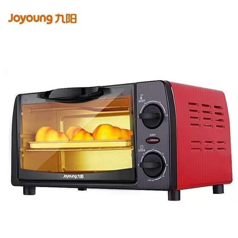 【九阳】(Joyoung)电烤箱家用多功能烘焙 定时控温迷你10L巧容量小烤箱KX-10J5