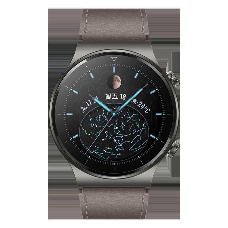 【华为】(HUAWEI)智能电话手表户外运动手表智能手表手环WATCH GT 2 Pro