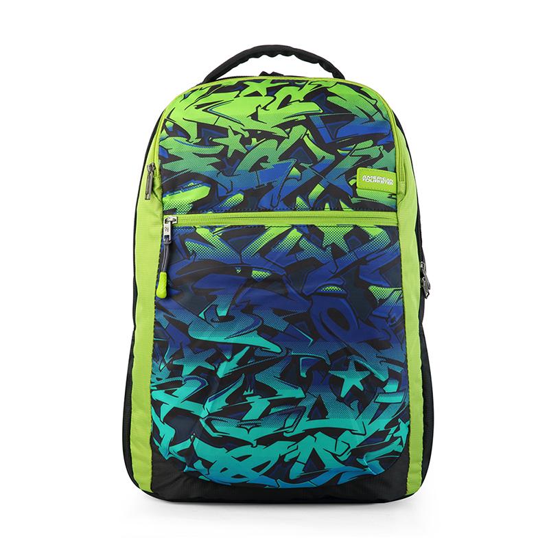 【美旅】时尚个性双肩包商务休闲背包笔记本电脑包男潮流旅行包FM9*09001