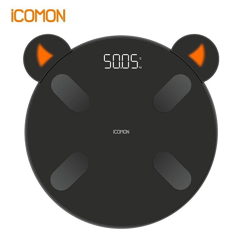 【沃莱】(ICOMON)智能体脂秤 精准家用迷你体重秤FG2009B