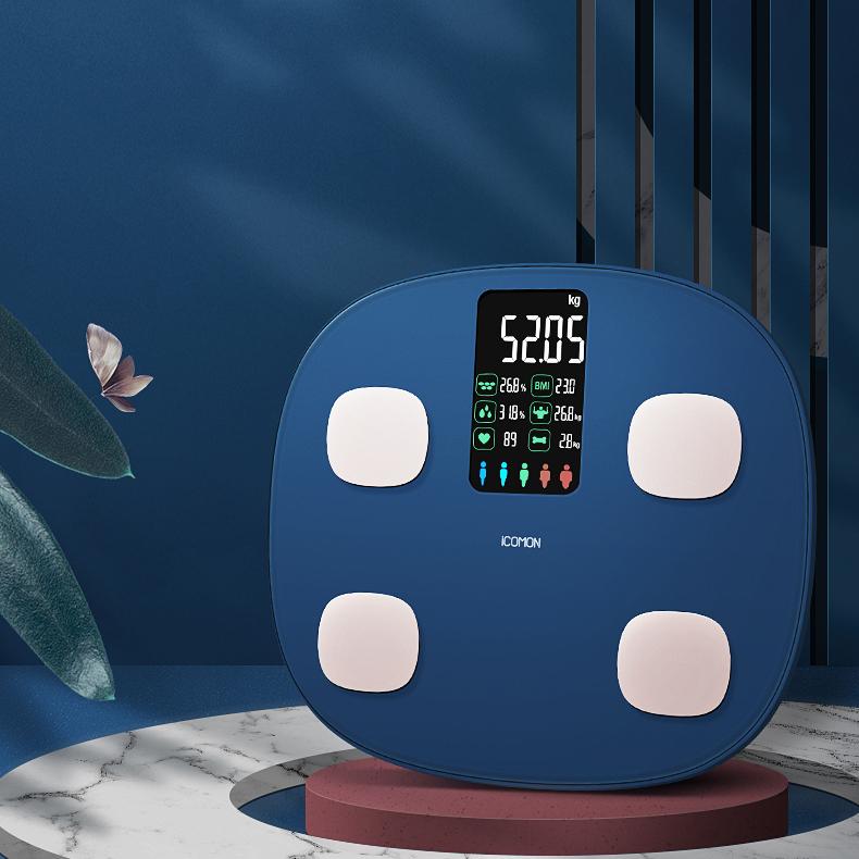 【沃莱】人体秤家用精准体脂称测脂肪智能称重电子秤体重秤FG2004B