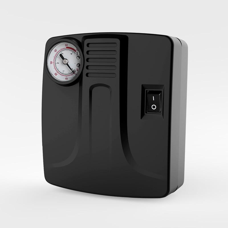 【途马】途小泵车载迷你充气泵 汽车轮胎充气机点烟器12V打气泵D30