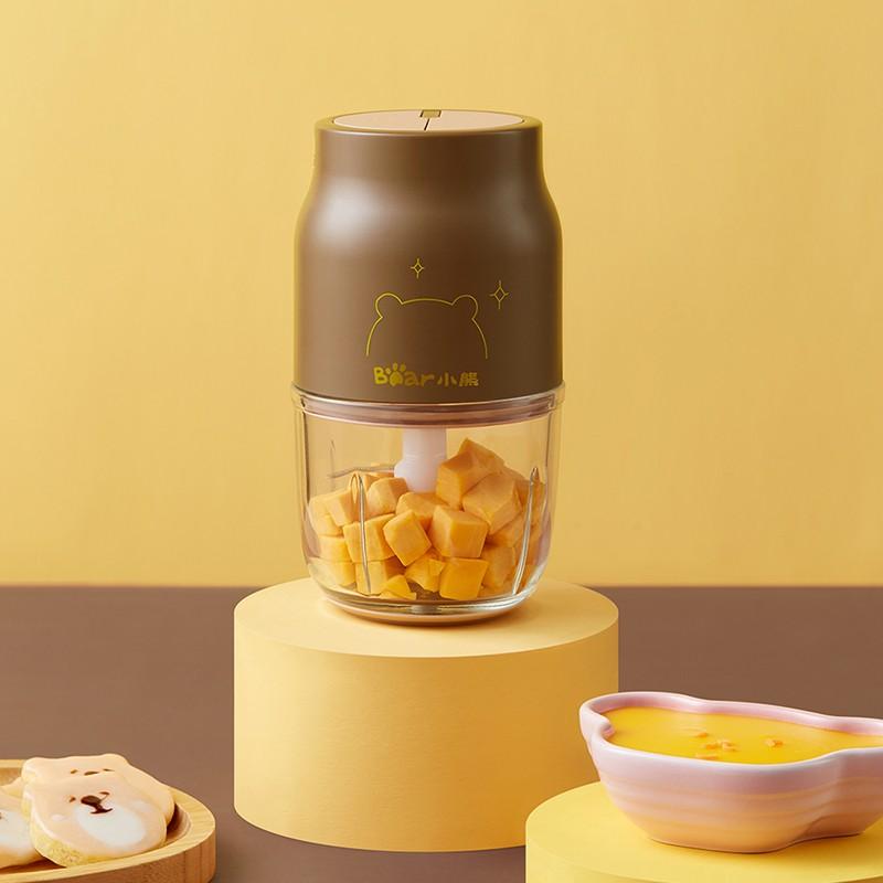 【小熊]】辅食机 婴儿料理机 绞肉机无线便携充电式电动家用迷你多功能搅拌器 QSJ-P01A1