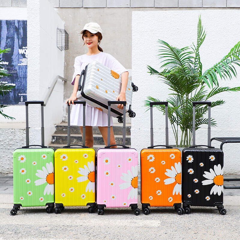 行李箱女学生韩版小清新拉杆箱万向轮密码箱可爱旅行箱S6615