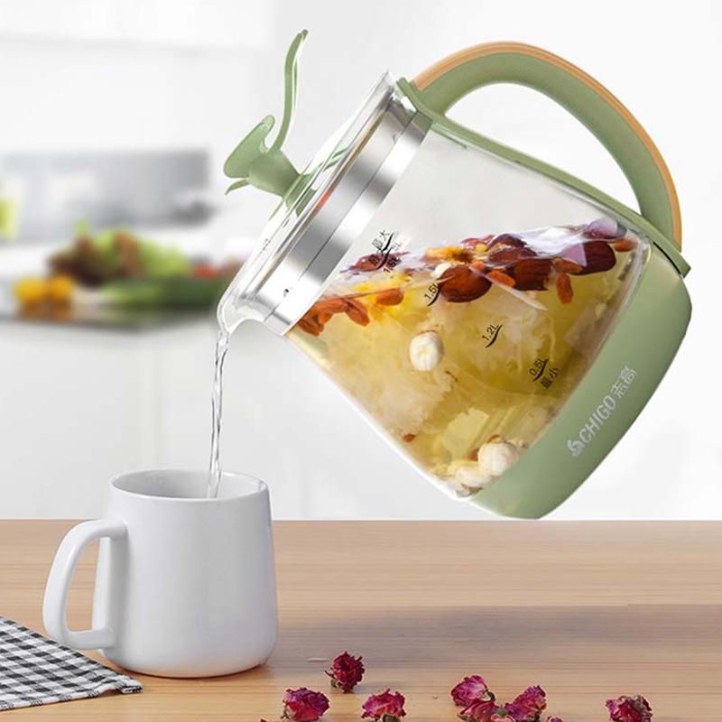 【志高】养生壶全自动玻璃家用多功能办公室小型养身煮茶器ZG-X1606