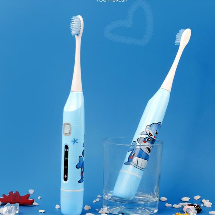 【麦喆】电动牙刷OEM感应式充电儿童防水细毛儿童牙刷MG00801L01-2