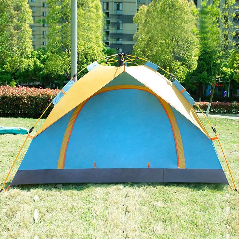 【何大屋】 户外防水野营帐篷公园休闲康桥湖畔帐篷HDW1509