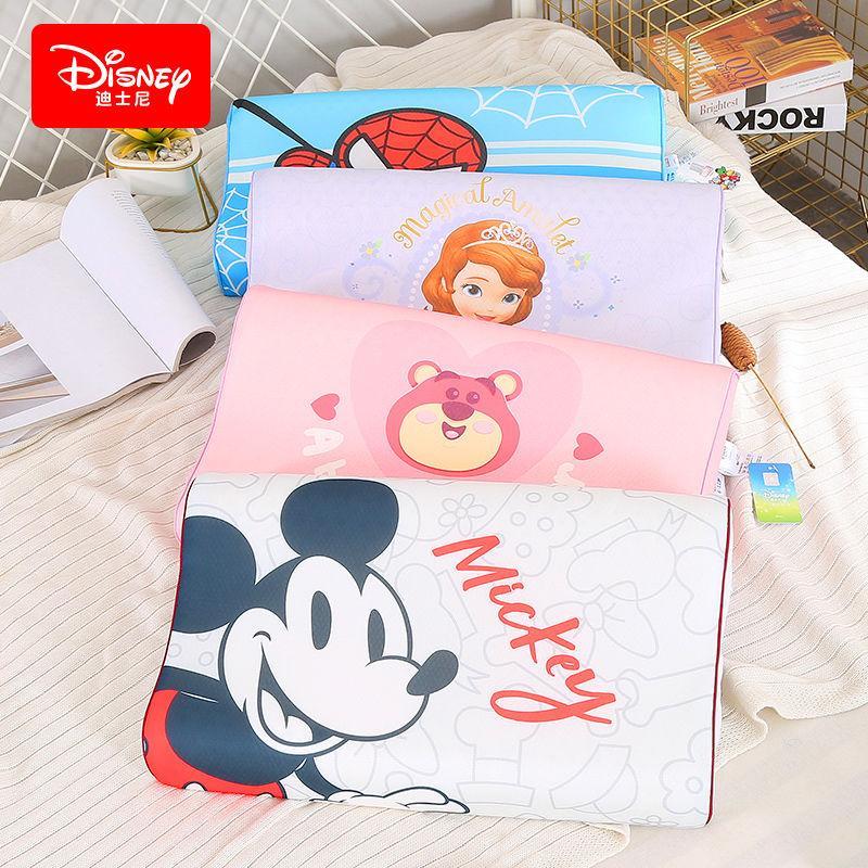 【迪士尼】(Disney)卡通儿童乳胶枕夏季冰丝乳胶枕抑螨促睡眠枕头TT006PL