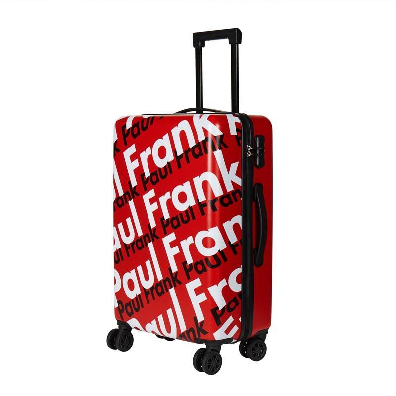 【大嘴猴】(Paul Frank)行李箱拉杆箱万向飞机轮分散压力伸缩提手PFL035B