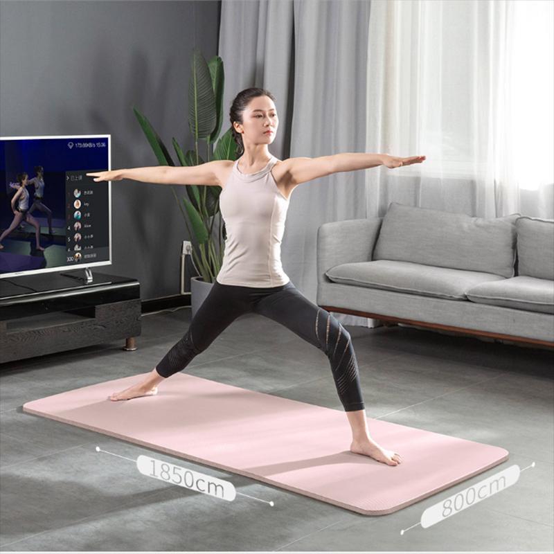 【小乔】瑜伽垫加厚加宽加长地垫家用防滑健身垫
