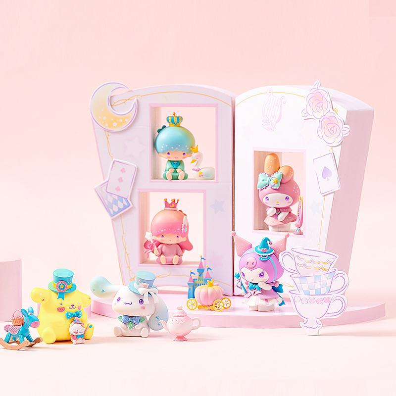【名创优品】名创优品&三丽欧联名款Sanrio Characters梦幻系列盲盒摆件(混)