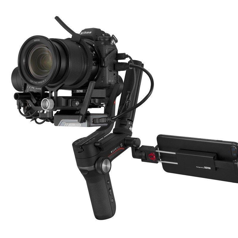 【智云】WEEBILL S相机稳定器微单单反稳定器手持云台 Vlog拍摄三轴防抖云台CR110