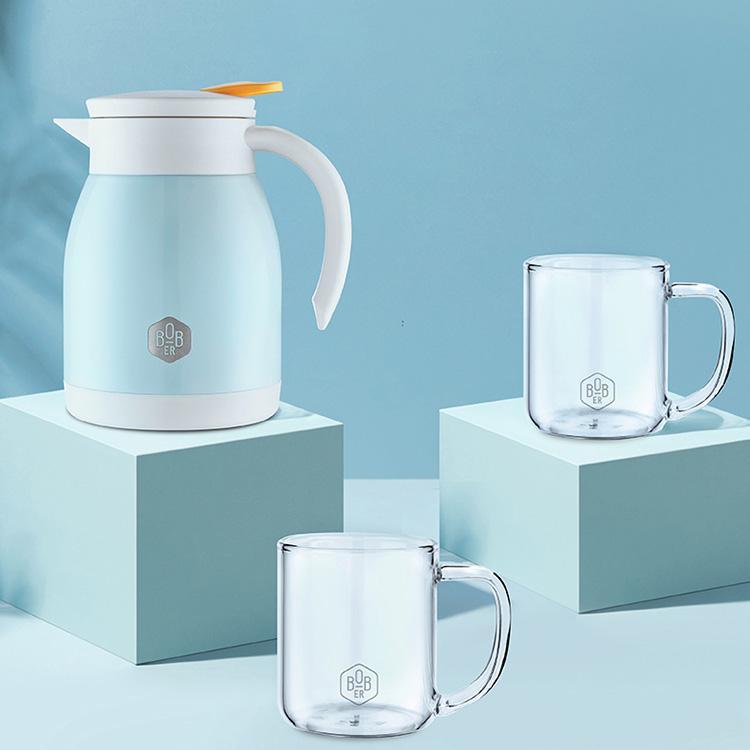 【博堡】萨克森茶水套装不生锈不氧化防止污垢产生易清洗BSKS-TZ005