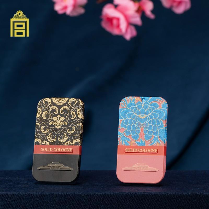 【故宫文创】 御苑清香香膏桃花果香国风香氛文化固体香膏