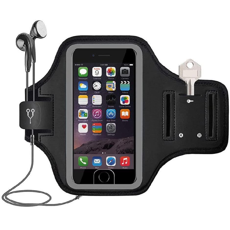 【斯维格尔】户外运动跑步手机臂带健身臂套手机臂包0226