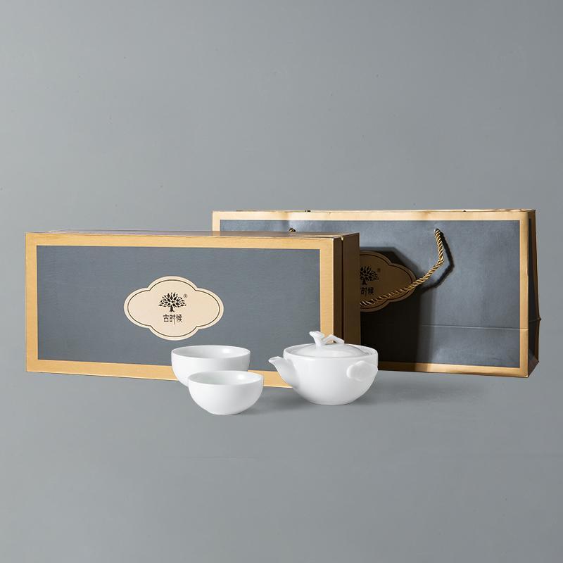 【古时候】瓷器蟹蟹你系列茶具一壶两二杯浮雕螃蟹套杯G22