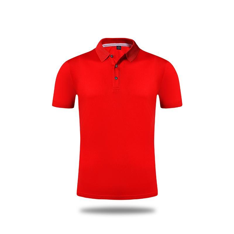 高档小领速干polo文化衫短袖t恤班服工作服HM-0108