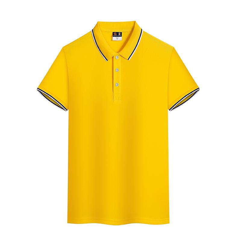 英朗短袖翻领T恤POLO衫工作衣服广告衫HM-6008