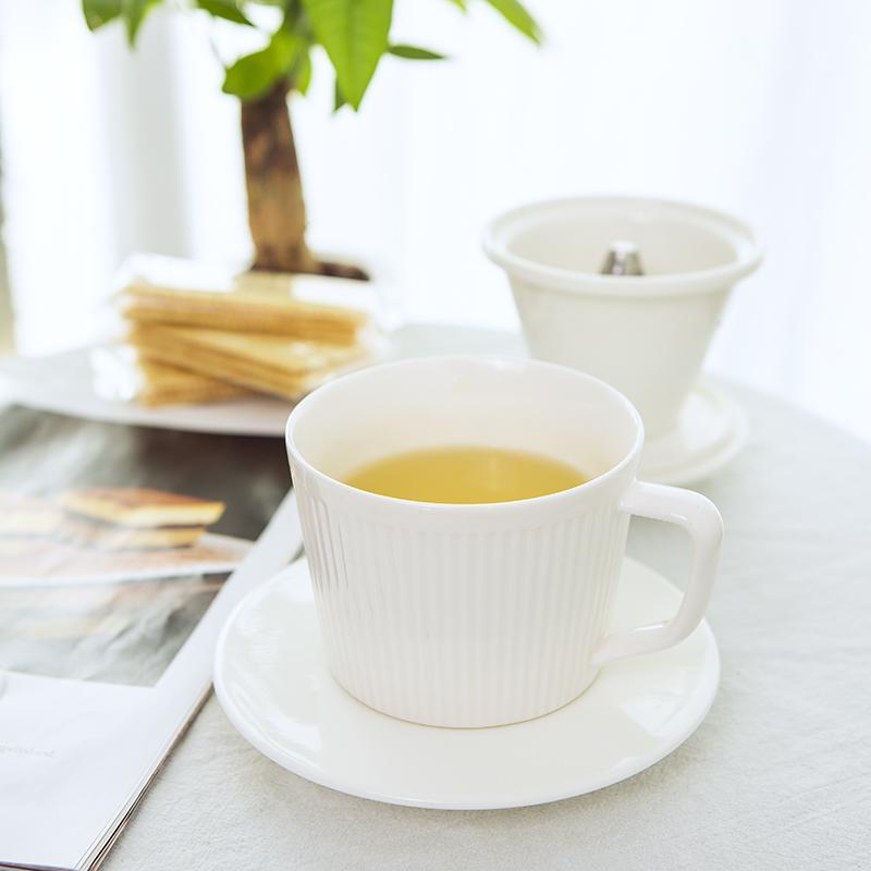 【古时候】瓷器茶咖系列创意两用泡茶杯咖啡杯G84