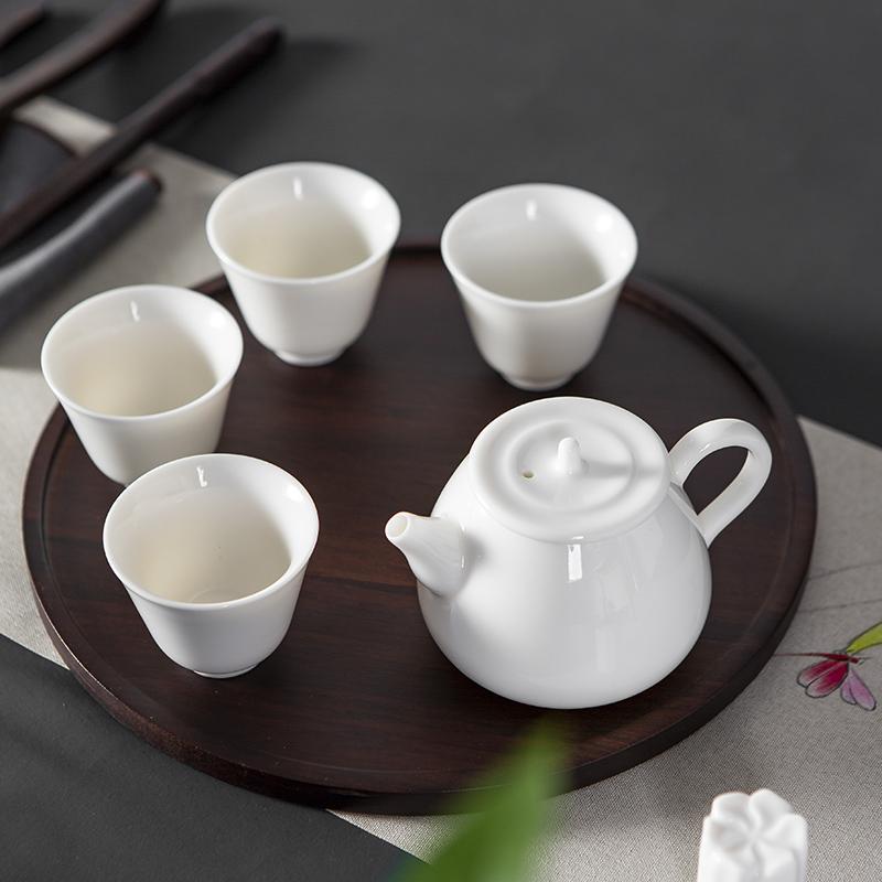 【古时候】瓷器乐园系列清新小茶具套装家用简约现代茶具G11