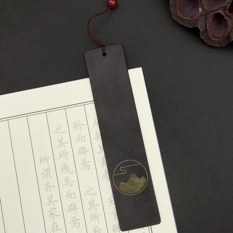 【尚元堂】幻彩商务系列江山书签江山笔套装XCW006/XCW202