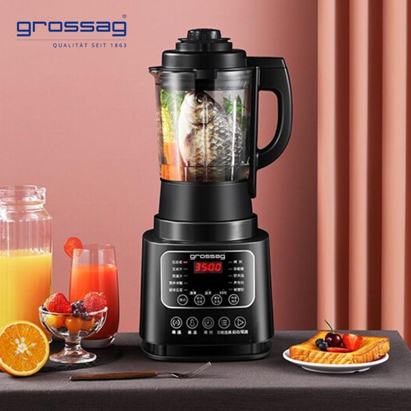 【格罗赛格】grossag多功能破壁机高硼玻璃杯身健康材质清洗方便GL-PJ0080