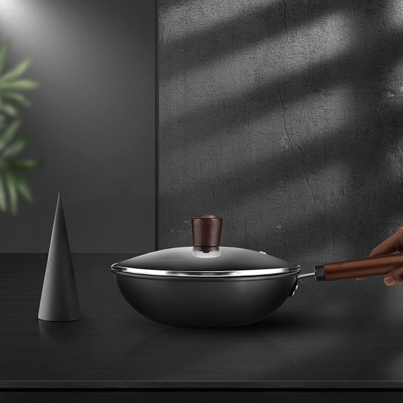 【摩马仕】健康炒锅导热均匀有效补充人体所需铁元素MSH-JK01